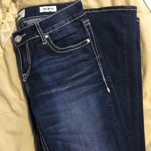 Buckle (DayTrip) boot cut jeans.